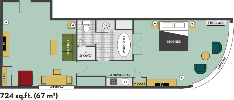 Embassy Suites Floor Plan