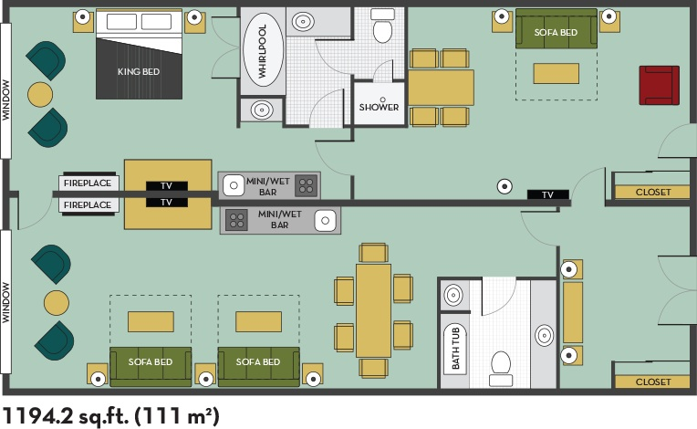 embassy suites floor plan | TheFloors.Co